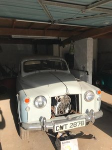 1964 Rover P4 110 Project Vehicle