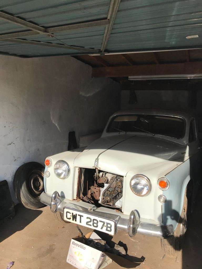 1964 Rover P4 110 Project Vehicle  For Sale (picture 2 of 6)