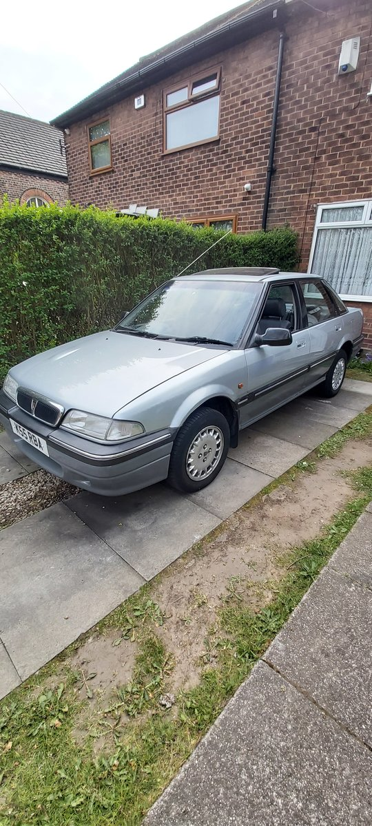 1992 Classic rover 420 gsi 2.0i manual. For Sale (picture 1 of 6)