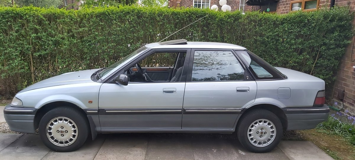 1992 Classic rover 420 gsi 2.0i manual. For Sale (picture 3 of 6)