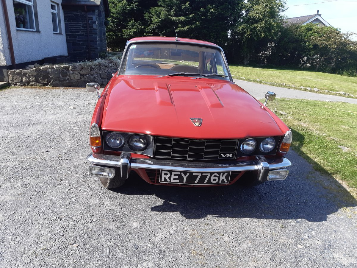 1972 Rover p6 V8  For Sale (picture 5 of 5)