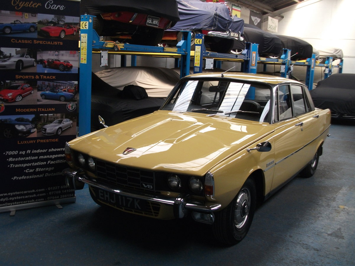 1972 Rover P6 3500 V8 Automatic. Rust treated from new.  SOLD (picture 1 of 6)