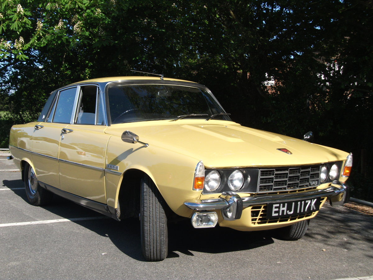 1972 Rover P6 3500 V8 Automatic. Rust treated from new.  SOLD (picture 3 of 6)