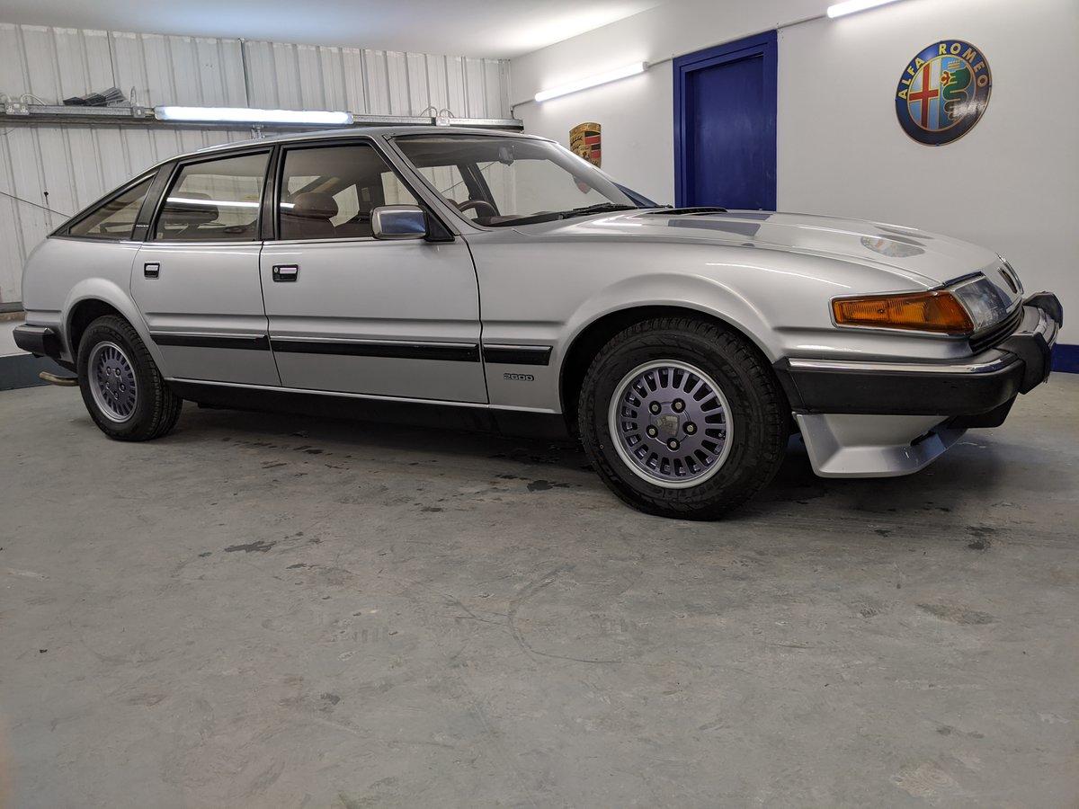 1986 Rover SD1 Vanden Plas SOLD (picture 1 of 6)