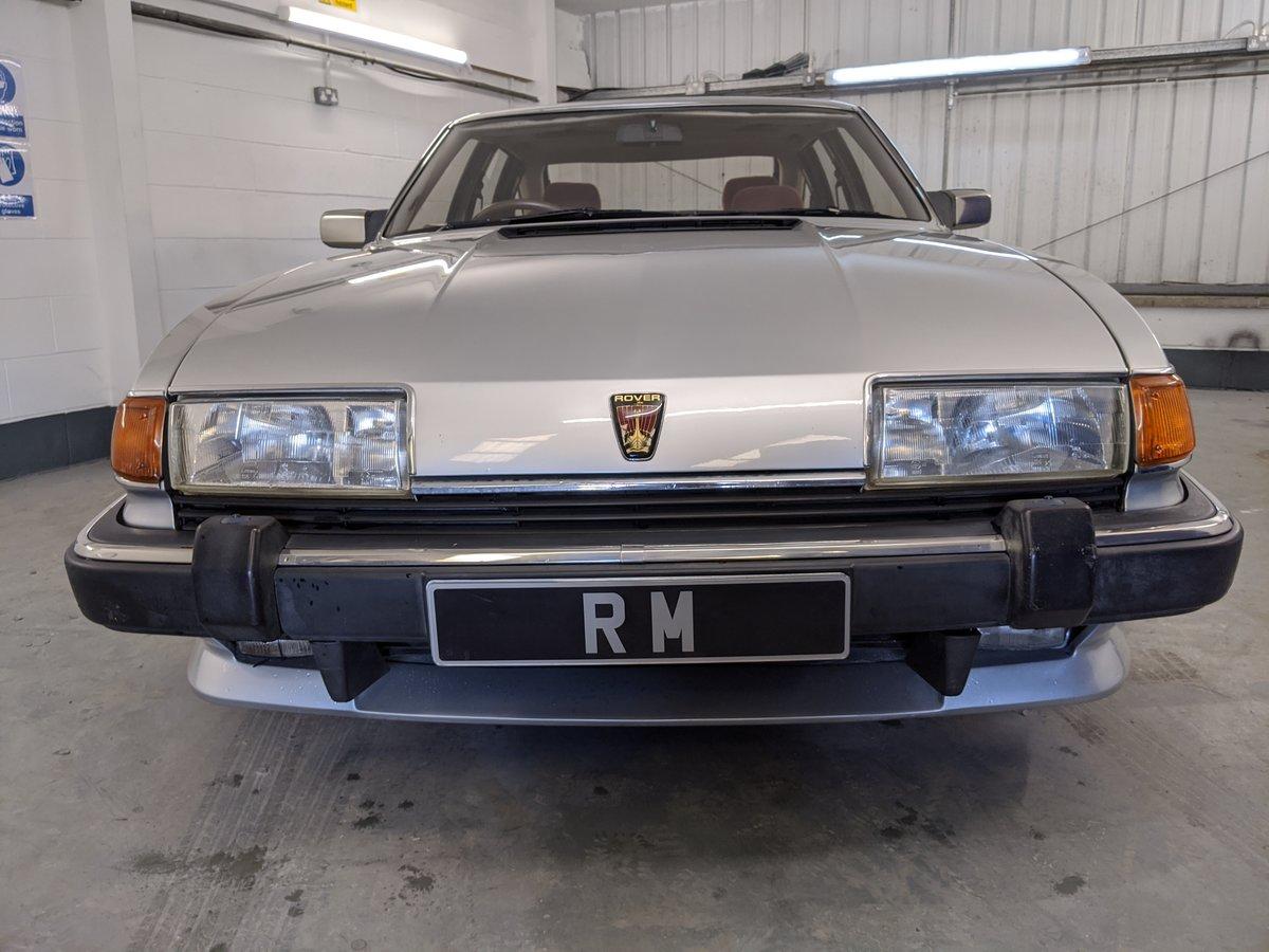 1986 Rover SD1 Vanden Plas SOLD (picture 2 of 6)