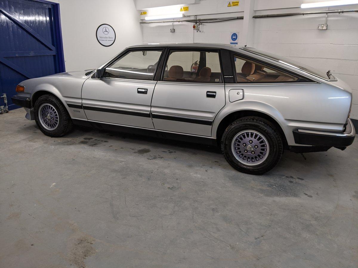 1986 Rover SD1 Vanden Plas SOLD (picture 4 of 6)