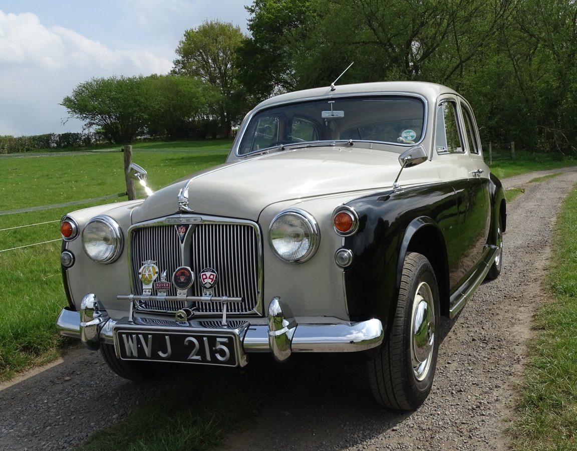 1960 Truly exceptional and completely original Rover P4 SOLD (picture 1 of 6)