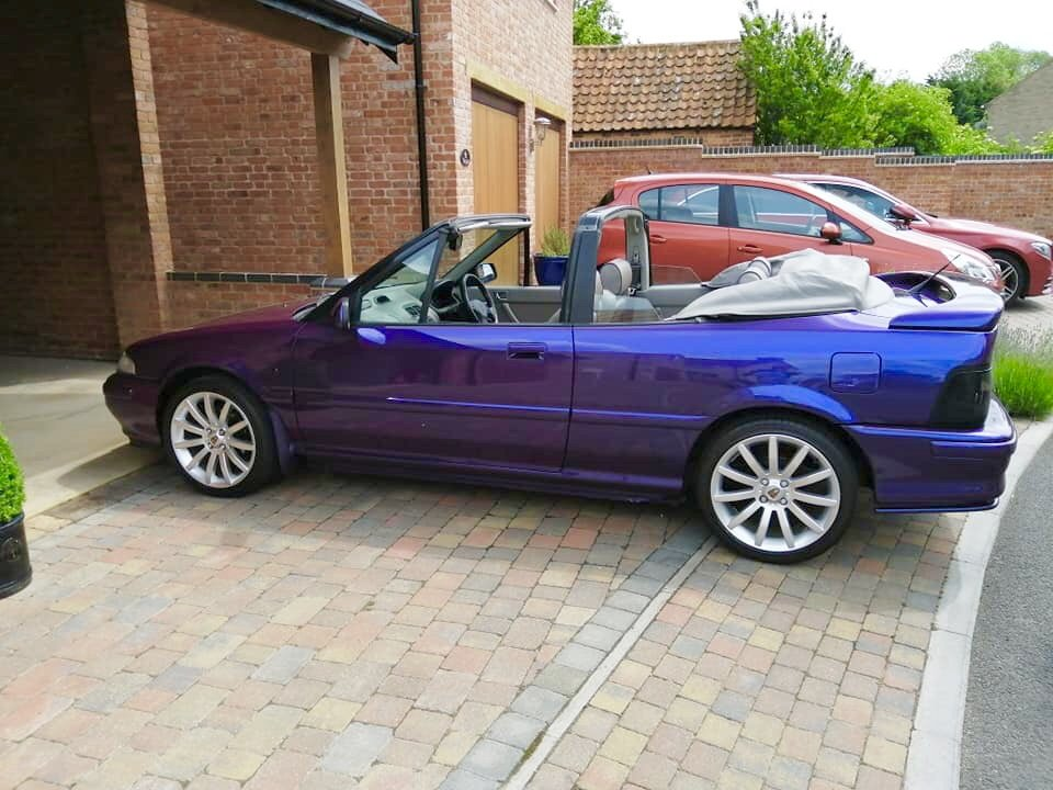 1995 *FINAL REDUCTION*Stunning Rover Cabriolet 216sei For Sale (picture 1 of 6)