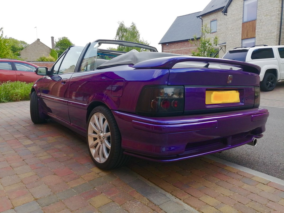 1995 *FINAL REDUCTION*Stunning Rover Cabriolet 216sei For Sale (picture 2 of 6)