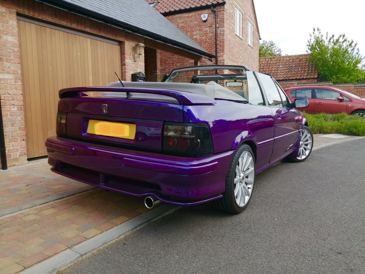 1995 *FINAL REDUCTION*Stunning Rover Cabriolet 216sei For Sale (picture 3 of 6)
