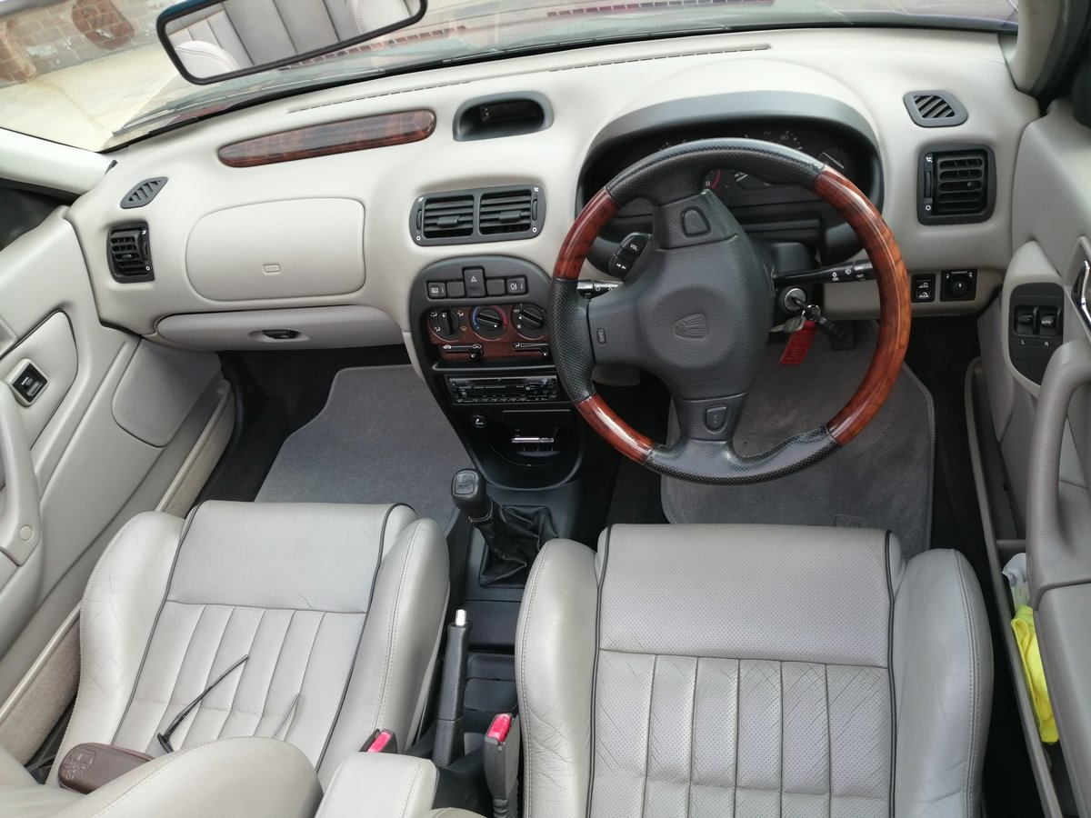 1995 *FINAL REDUCTION*Stunning Rover Cabriolet 216sei For Sale (picture 5 of 6)