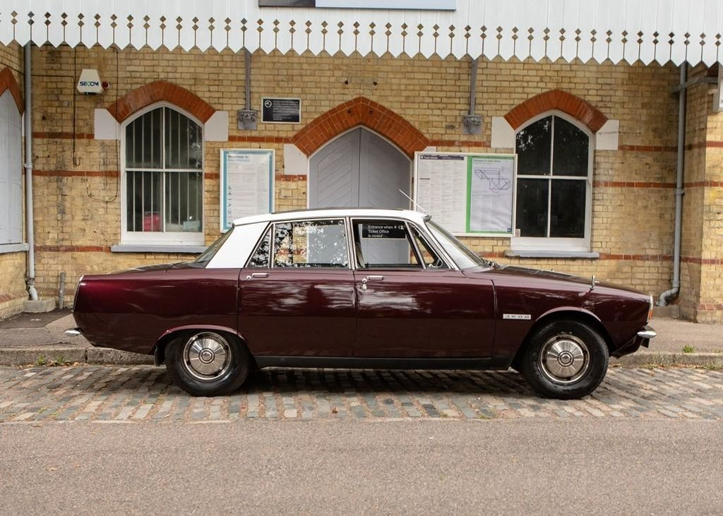 """1969 Rover P6 MK I """"RHD"""" For Sale (picture 1 of 6)"""