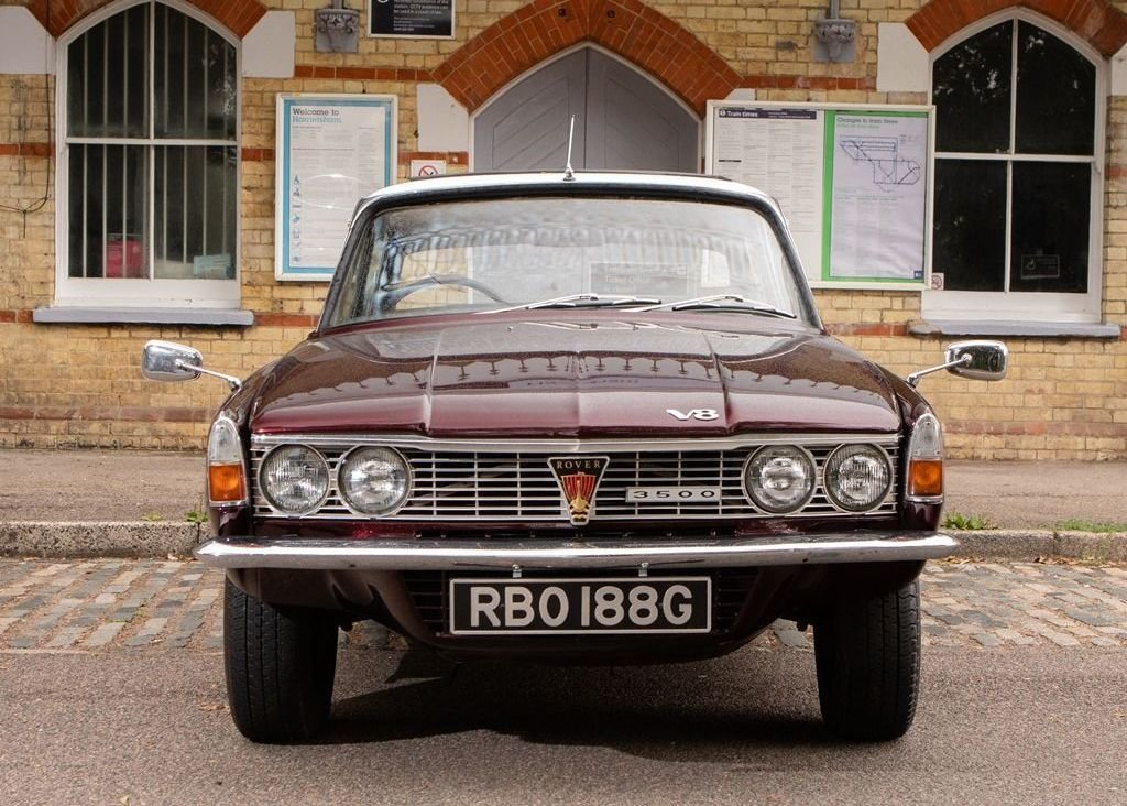 """1969 Rover P6 MK I """"RHD"""" For Sale (picture 2 of 6)"""