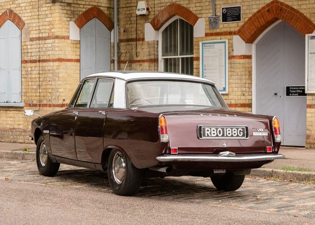 """1969 Rover P6 MK I """"RHD"""" For Sale (picture 3 of 6)"""