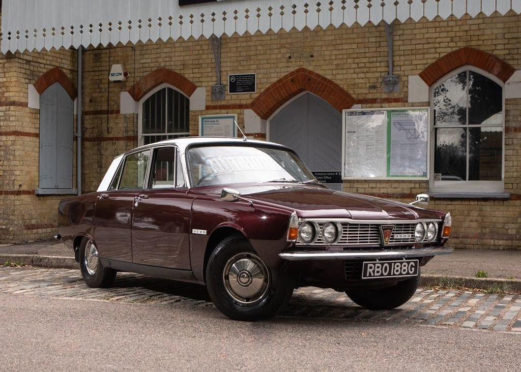 """1969 Rover P6 MK I """"RHD"""" For Sale (picture 4 of 6)"""