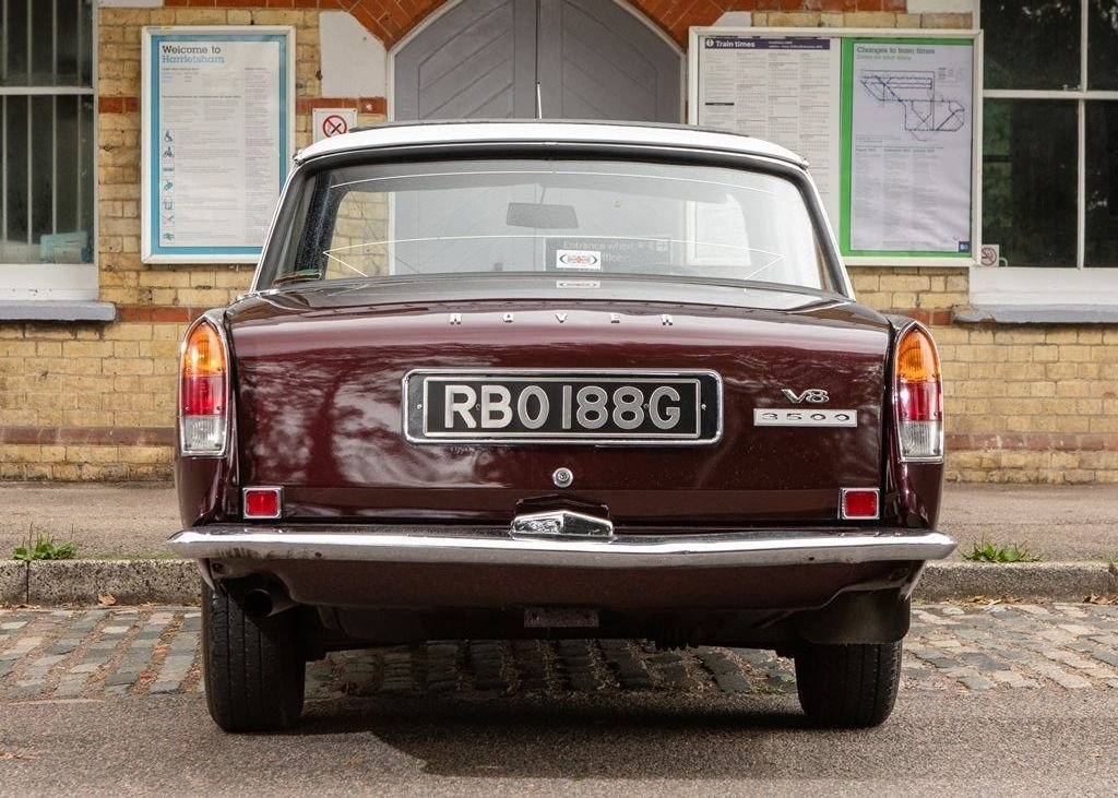 """1969 Rover P6 MK I """"RHD"""" For Sale (picture 6 of 6)"""
