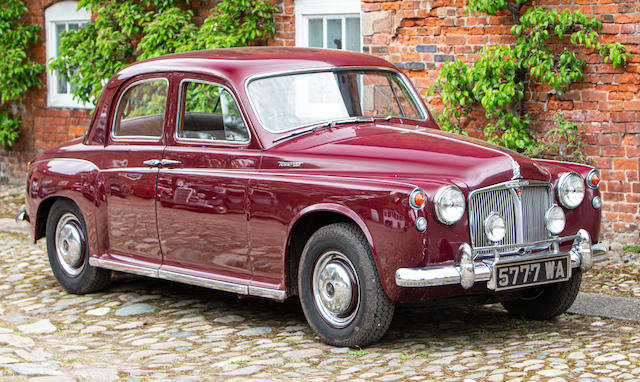 1961 ROVER P4 100 For Sale by Auction (picture 1 of 1)