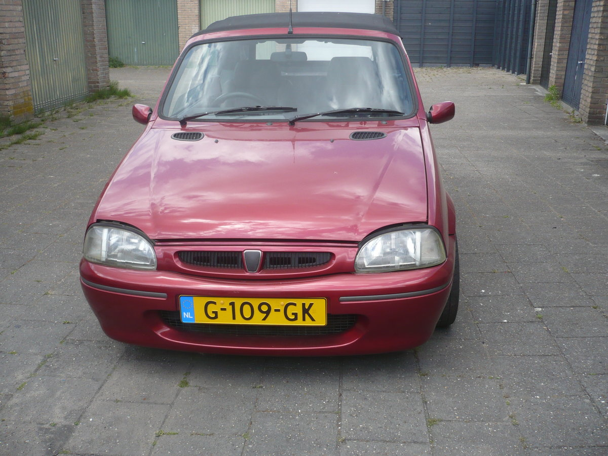1995 Rare Rover 114 Metro convertible. For Sale (picture 2 of 6)