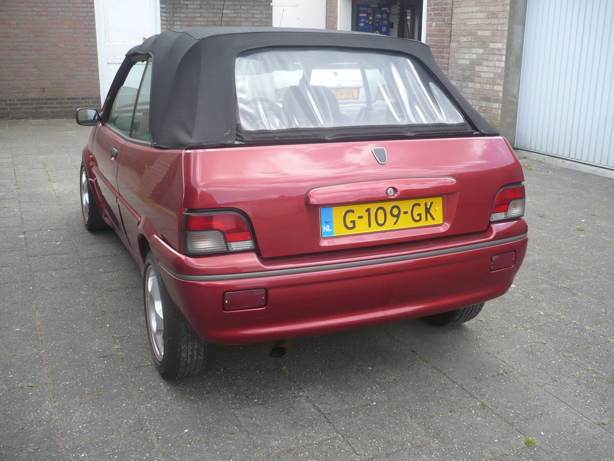 1995 Rare Rover 114 Metro convertible. For Sale (picture 3 of 6)