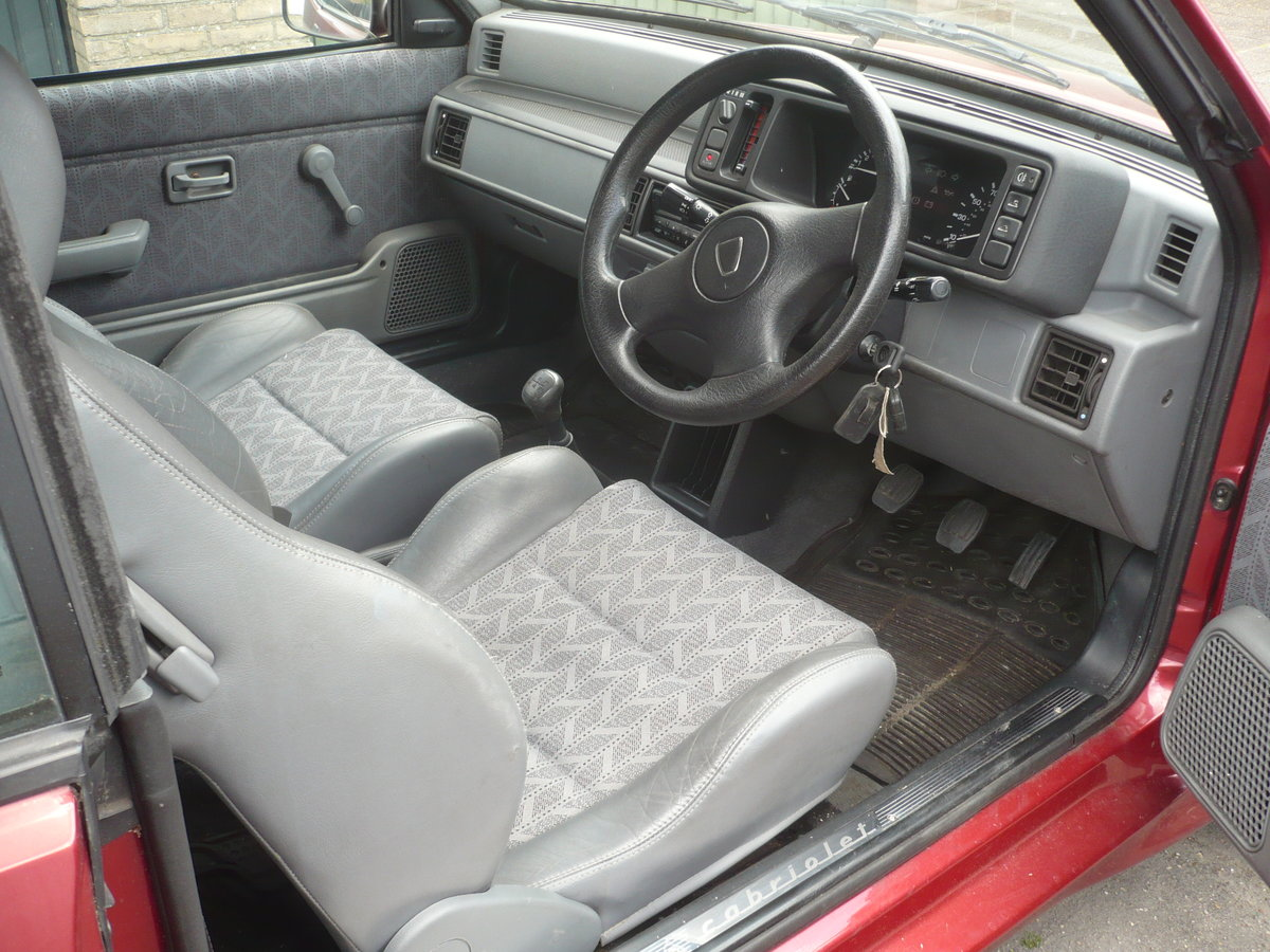 1995 Rare Rover 114 Metro convertible. For Sale (picture 5 of 6)