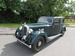 1938 Rover 12 Sports Saloon
