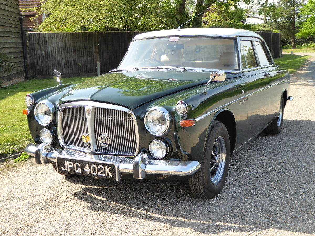 1972 Beautiful  Rover P5B 3.5 Litre Saloon SOLD (picture 1 of 6)