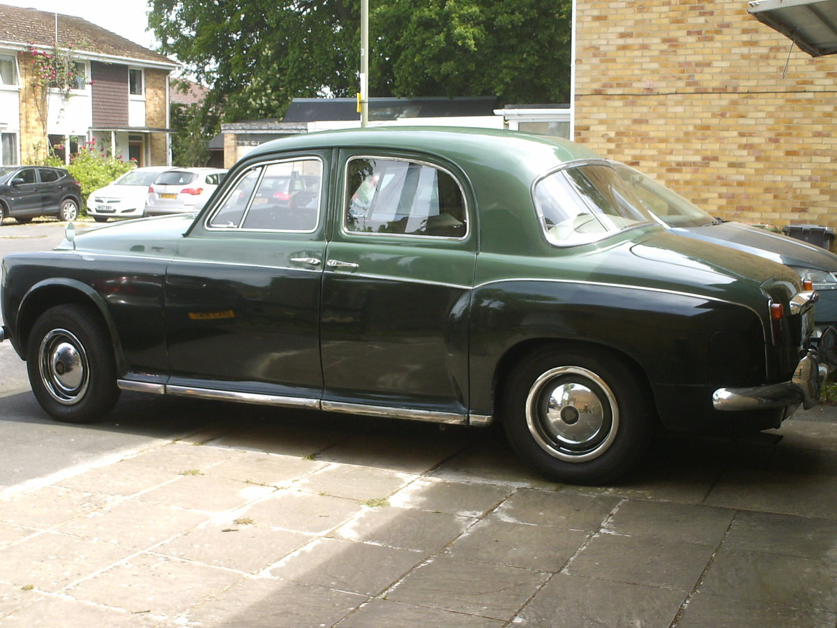 1959 Rover p4 /60 SOLD (picture 1 of 6)