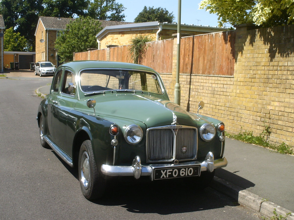 1959 Rover p4 /60 SOLD (picture 2 of 6)