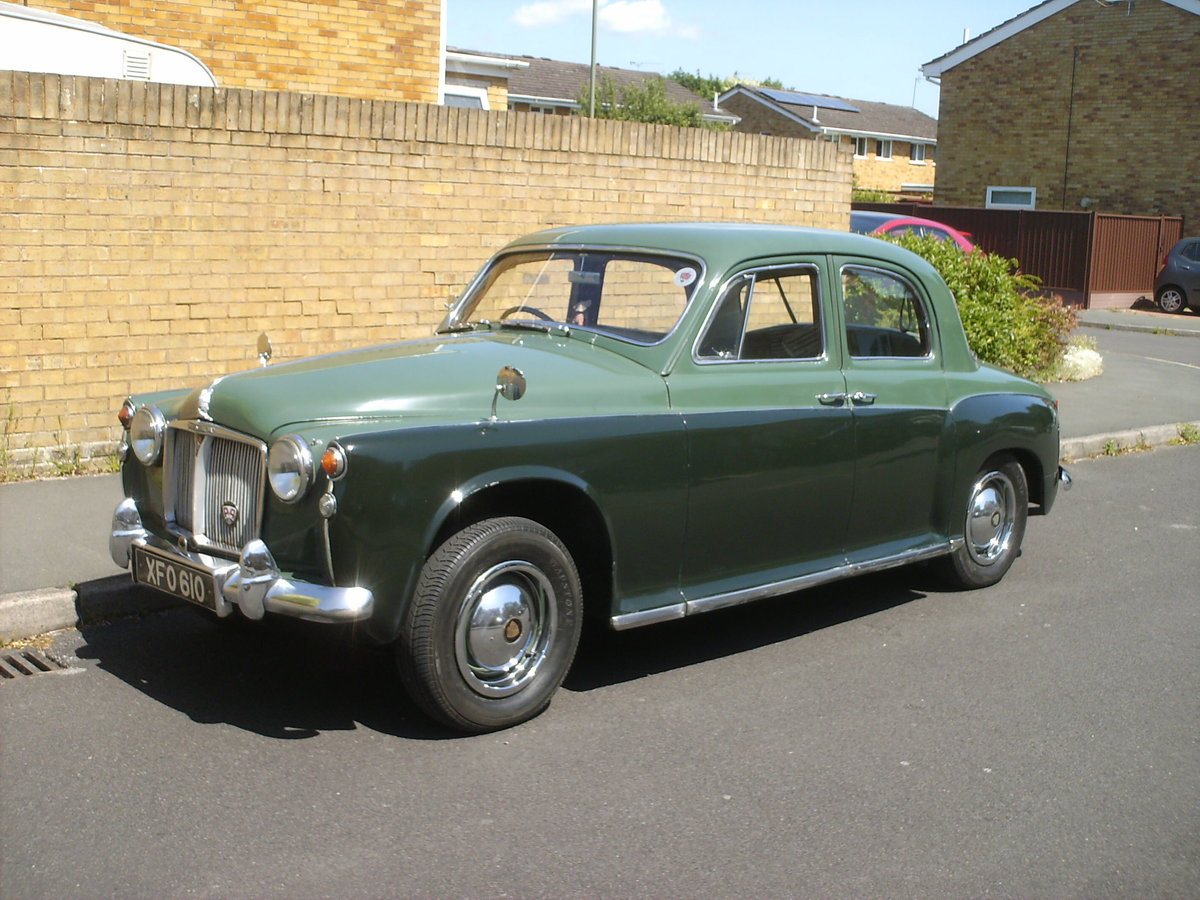 1959 Rover p4 /60 SOLD (picture 5 of 6)