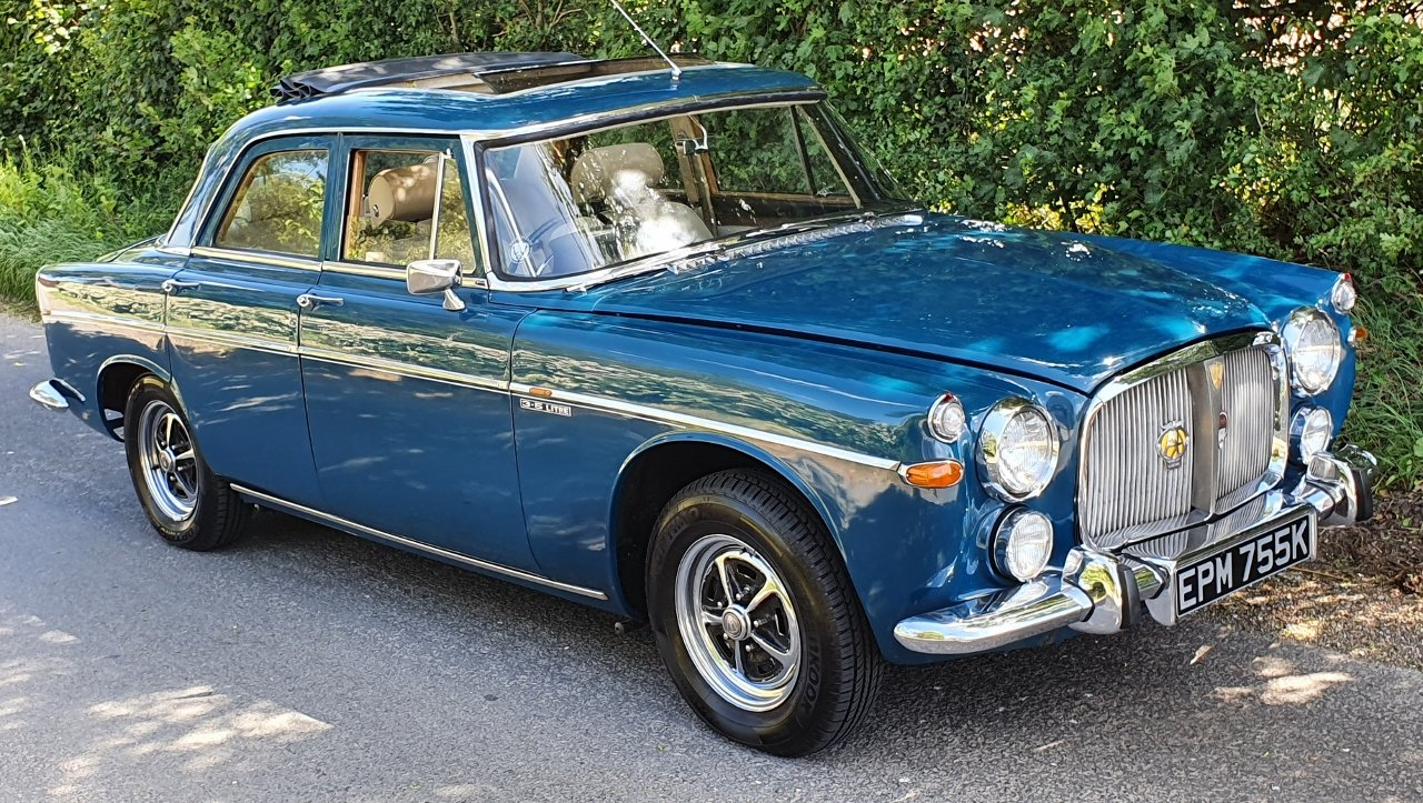 1972 Superb Rover P5B - Amazing history - Titled owner etc SOLD (picture 2 of 10)