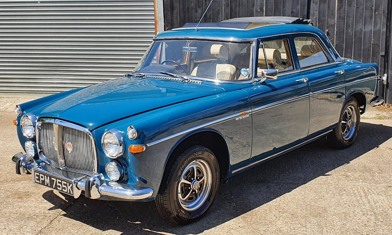 1972 Superb Rover P5B - Amazing history - Titled owner etc SOLD (picture 3 of 10)