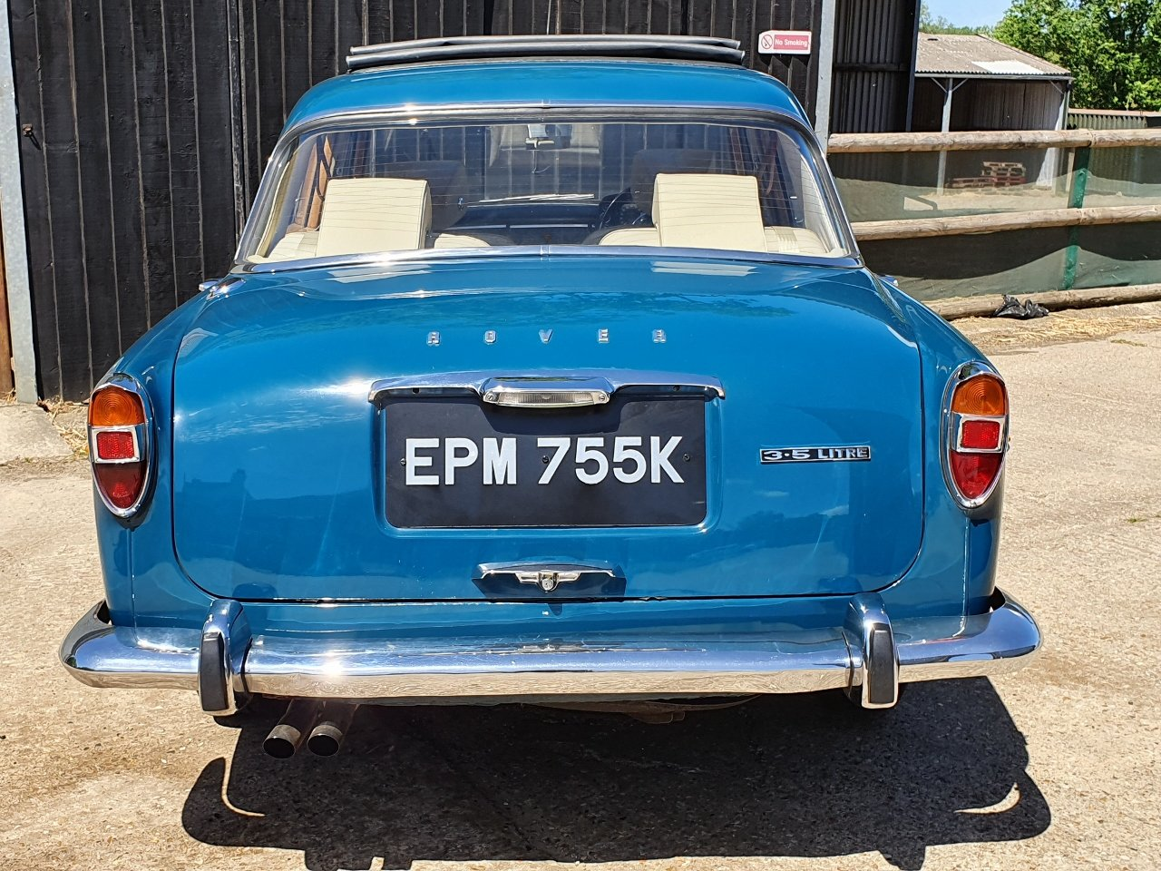 1972 Superb Rover P5B - Amazing history - Titled owner etc SOLD (picture 1 of 10)