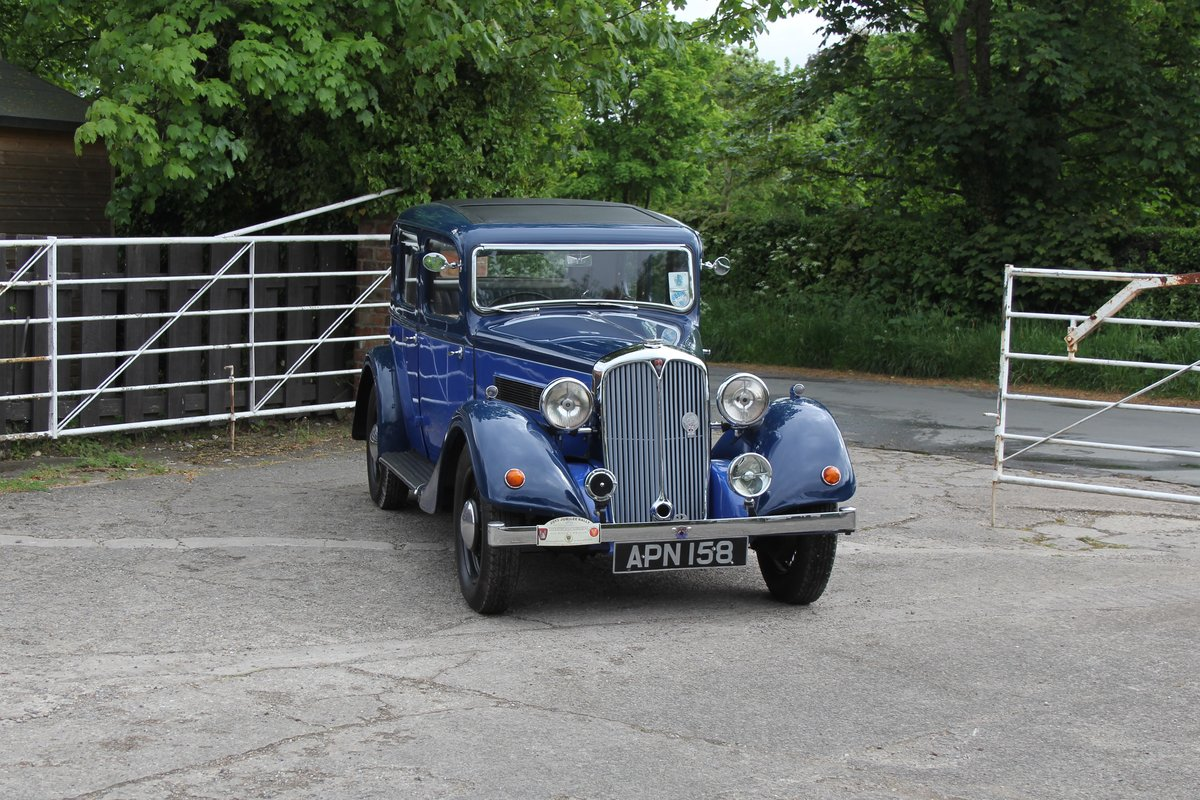 1937 Rover 10 Saloon, Lovely Condition, Improved Rover P2 Engine For Sale (picture 1 of 18)