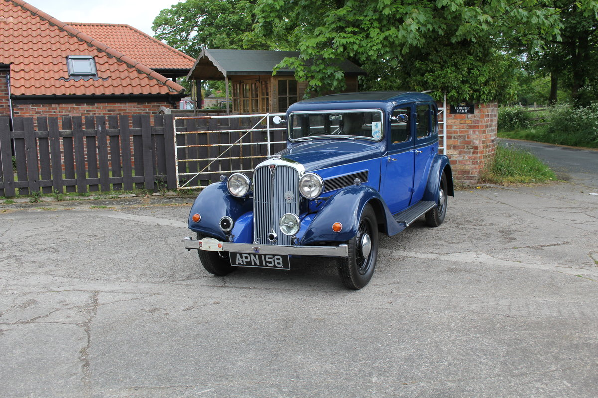 1937 Rover 10 Saloon, Lovely Condition, Improved Rover P2 Engine For Sale (picture 3 of 18)