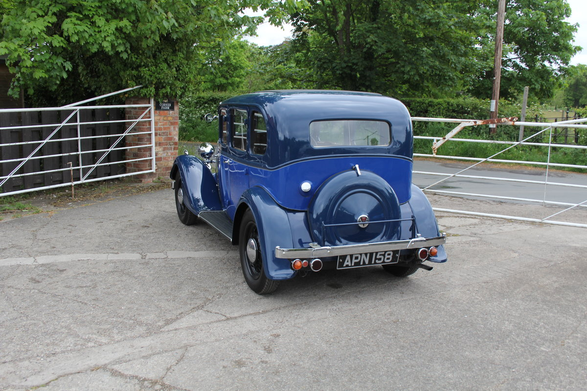 1937 Rover 10 Saloon, Lovely Condition, Improved Rover P2 Engine For Sale (picture 4 of 18)