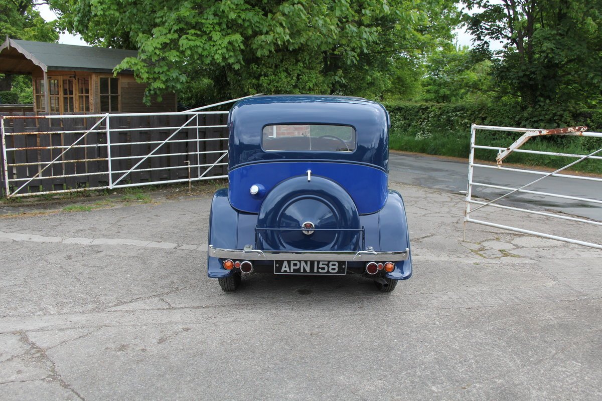 1937 Rover 10 Saloon, Lovely Condition, Improved Rover P2 Engine For Sale (picture 5 of 18)
