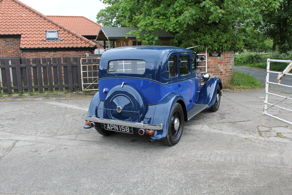 1937 Rover 10 Saloon, Lovely Condition, Improved Rover P2 Engine For Sale (picture 6 of 18)