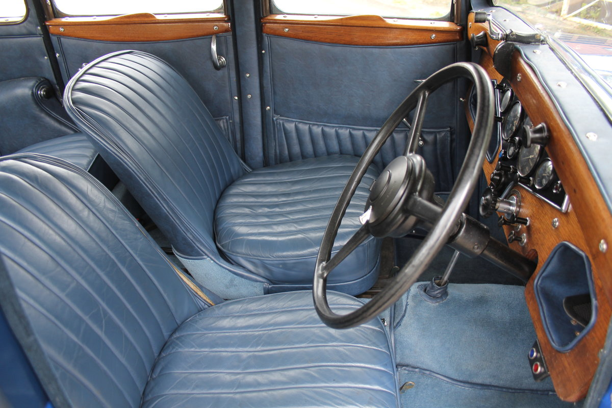 1937 Rover 10 Saloon, Lovely Condition, Improved Rover P2 Engine For Sale (picture 8 of 18)