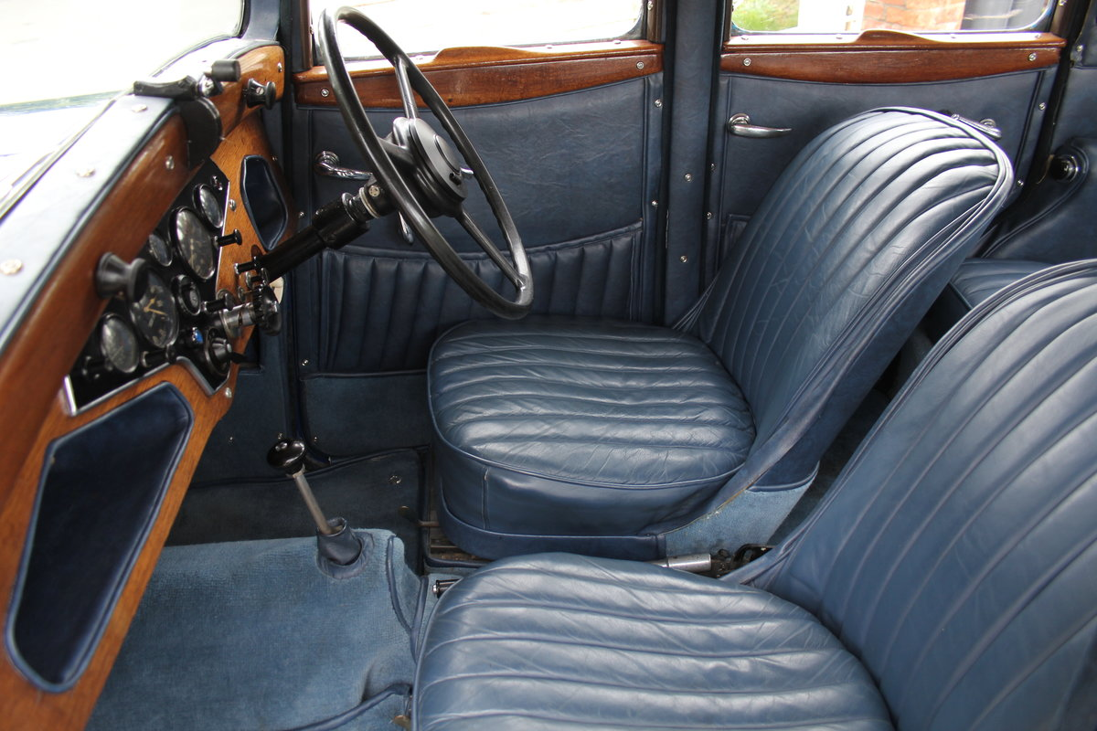 1937 Rover 10 Saloon, Lovely Condition, Improved Rover P2 Engine For Sale (picture 11 of 18)