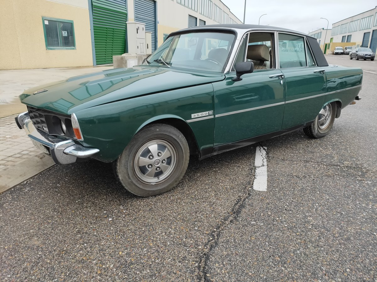 1973 Rover P6 3500 v8 LHD For Sale (picture 1 of 5)
