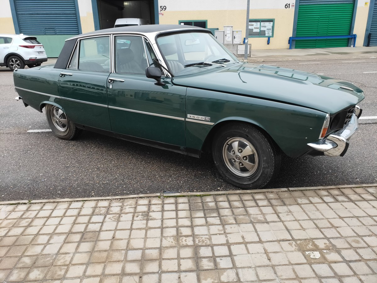 1973 Rover P6 3500 v8 LHD For Sale (picture 3 of 5)