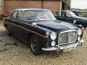 1970 Rover P5 3.5 Litre Coupe Auto at ACA 20th June