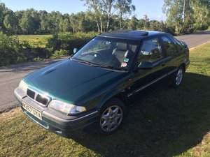 Rover 220 GSi, 86k miles, 2 previous owners