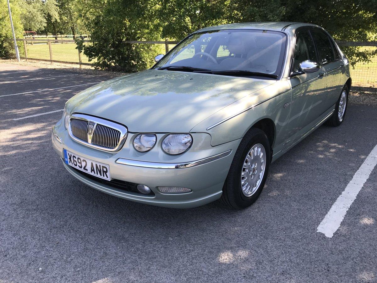 2001 Rover 75 Connoisseur SE 2.0L Petrol Automatic For Sale (picture 1 of 6)