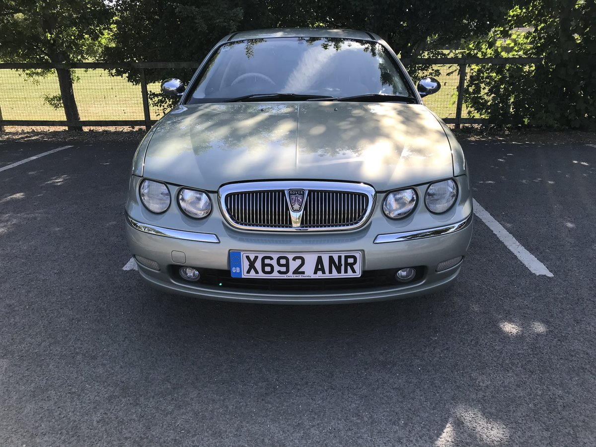 2001 Rover 75 Connoisseur SE 2.0L Petrol Automatic For Sale (picture 2 of 6)