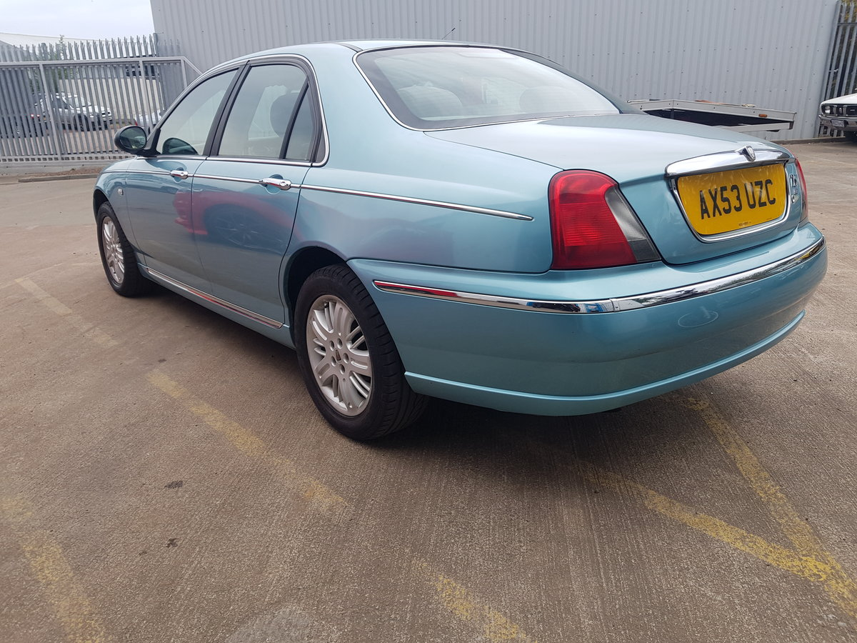 2004 Rover 75 1.8 Club SE For Sale (picture 3 of 6)