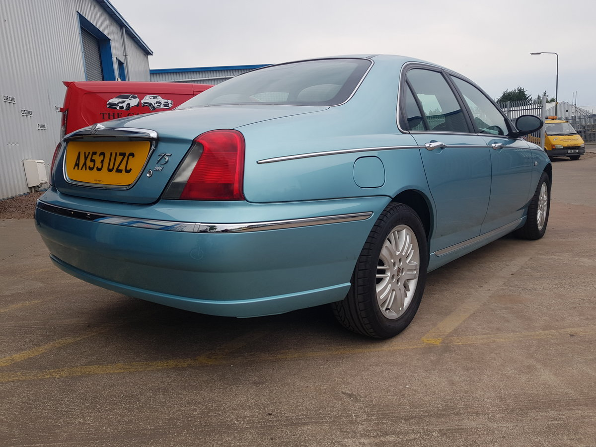 2004 Rover 75 1.8 Club SE For Sale (picture 4 of 6)
