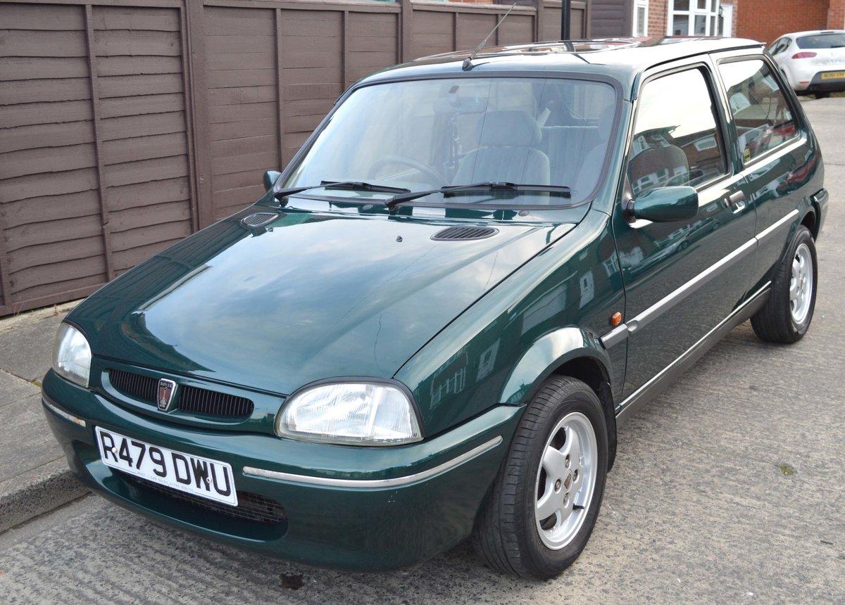 1998 Rover 114SLi Auto SOLD (picture 1 of 6)