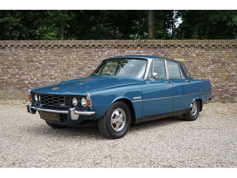1972 Rover P6 3500 Fully restored, low kilometers For Sale (picture 1 of 6)