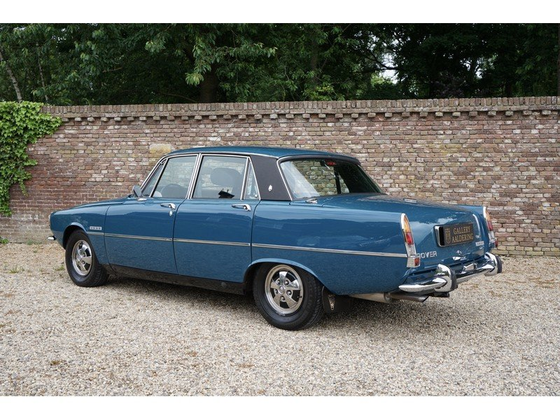 1972 Rover P6 3500 Fully restored, low kilometers For Sale (picture 2 of 6)